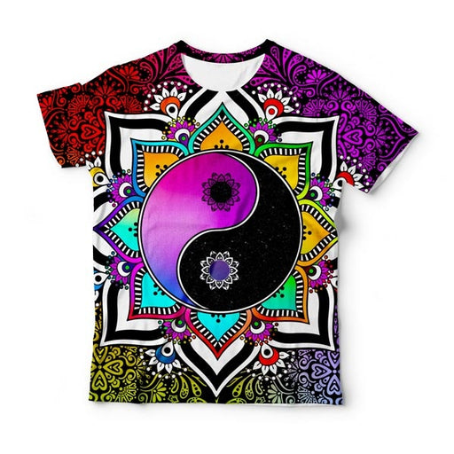 Purple Yin Yang T-Shirt