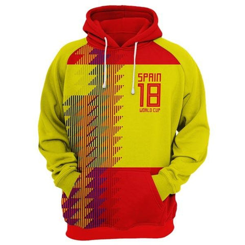 SPAIN World Cup Hoodie Style 3