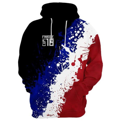 FRANCE World Cup Hoodie Style 2