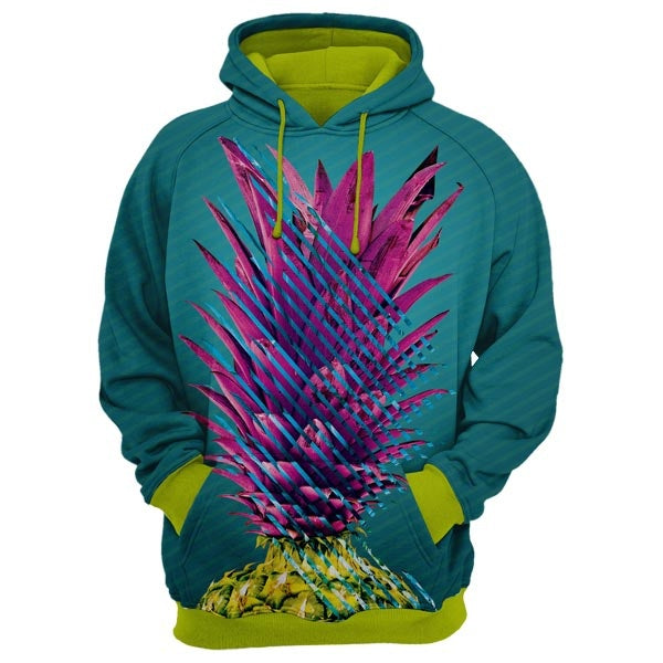 Abstract Pineapple Hoodie