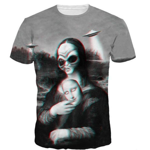 Mona Alien Lisa