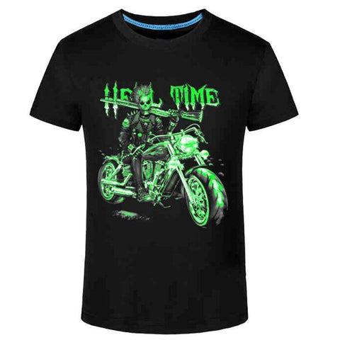 Motorcycle Luminous T-Shirt