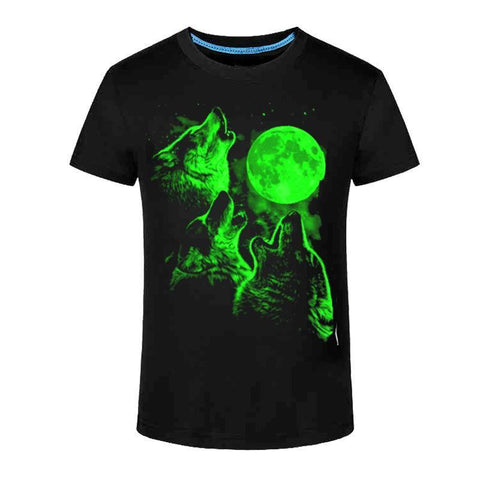 Moon Fluorescent T-Shirt