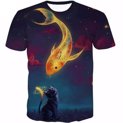 Golden Fish Kiss Shirt
