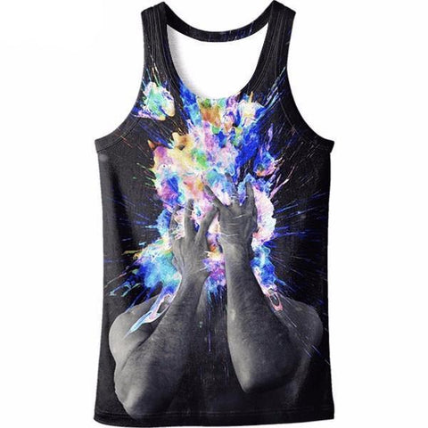 Color Bubbles Tank