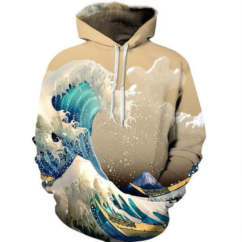 Fashion Waves Hoodie