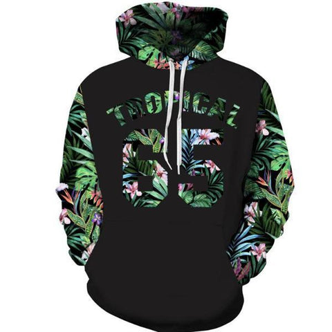 Tropical Leaves Hoodie