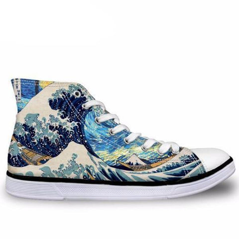 Ocean Wave Shoes