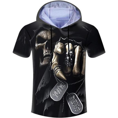Lord Skull Hooded T-Shirt