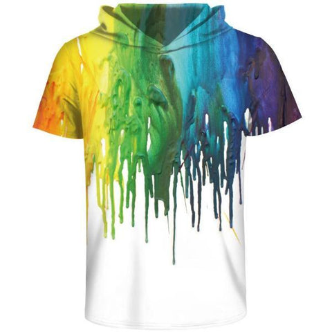 Color Paradise Hooded T-Shirt