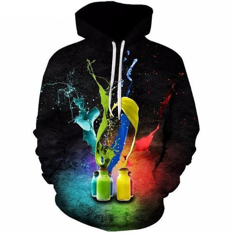 Fighting Colors Unisex Hoodie