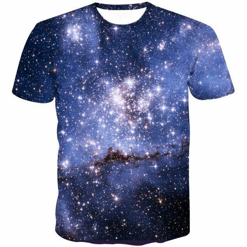 Blue Galaxy Shirt