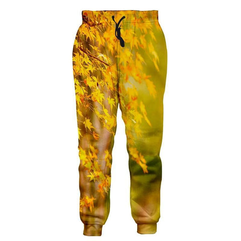 Yellow Tree Pants