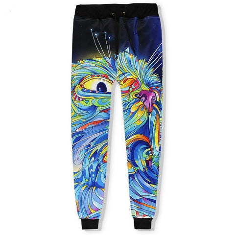 Colorful Cat Pants