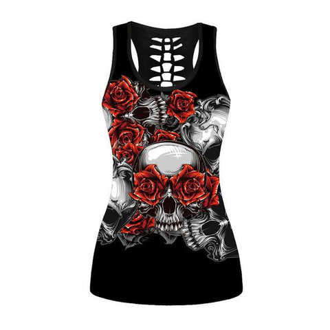 Romantic Skulls Tank Top