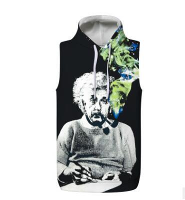 Genius Hooded Tank Top
