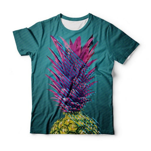 Abstract Pineapple T-Shirt