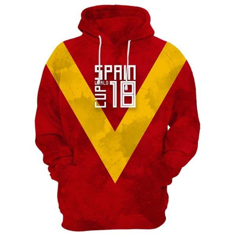 SPAIN World Cup Hoodie
