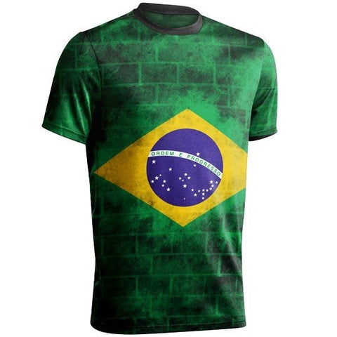 BRASIL World Cup Shirt Style 2
