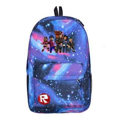 Roblox Boys Multifunction Galaxy Backpack for School 17 Inch