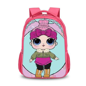 LOL Surprise Cozy Babe Pink Backpack Shoulder Bag for Kids