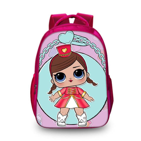 2019 LOL Surprise Cute Doll School Backpack Shoulder Bag for Kids