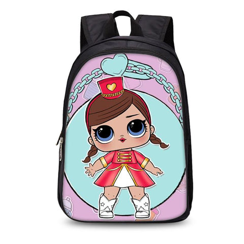 2019 LOL Surprise Girls Backpack School Shoulder Bag Kids Backpack