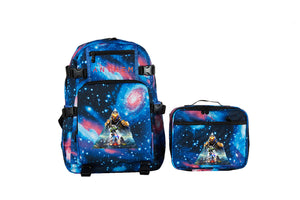 2019 Anthem Theme Logo School Backpack with Detachable Lunch Bag