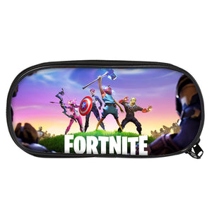 2019 Fortnite Characters Kids 3D Large Capacity Pencil Case For School