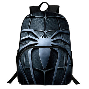 2019 New Spider Man Logo Boys Girls Backpack for School 16 Inch