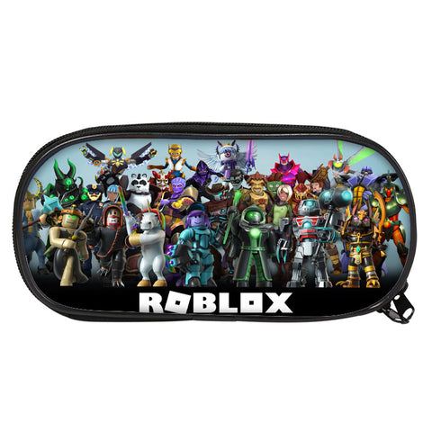 2019 Roblox Boys Girls 3D Large Capacity Pencil Case For School