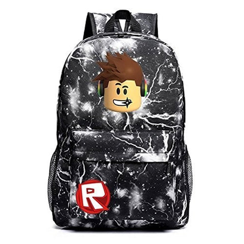 Roblox Teenager Durable Galaxy Large Backpack for School 17 Inch