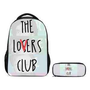 IT The Losers Club School Backpack with Pencil Case Set