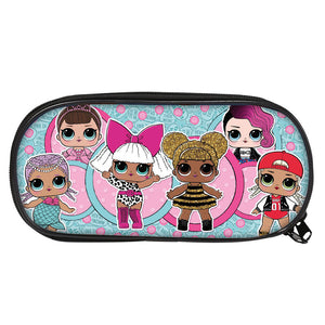 LOL Surprise Girls 3D Large Capacity Pencil Case For School