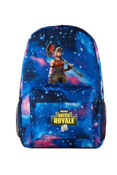 Renegade Raider Galaxy Backpack for School 17 Inch With USB Charging Port