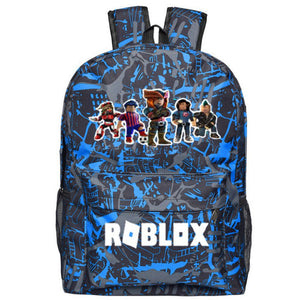 Roblox 2019 School Backpack With USB Charging Port 17 Inch