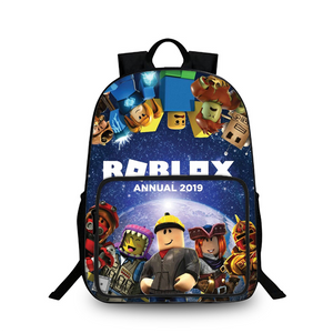 Roblox 2019 3D Large Capacity Backpack for School 18 Inch