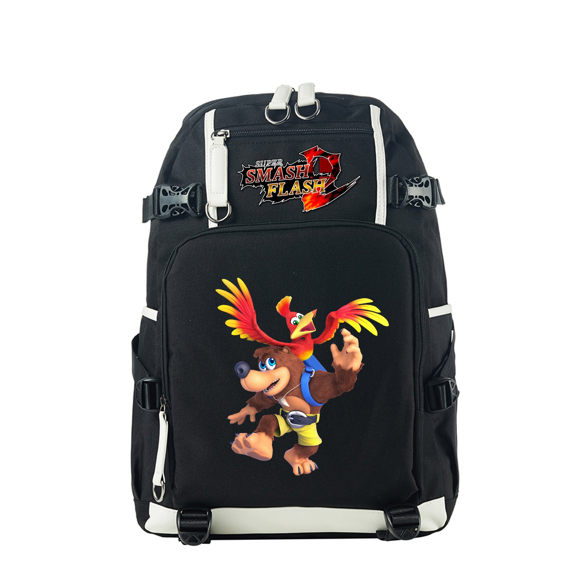 Super Smash Bros Ultimate Theme Backpack for School 17 Inch