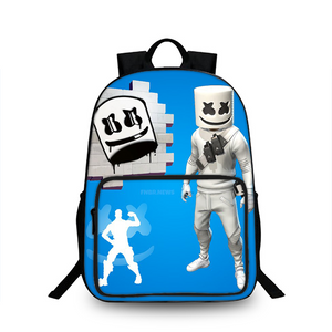 DJ Marshmello 3D Large Capacity Backpack for School 18 Inch