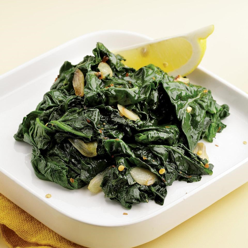 Sautéed or Steamed Spinach