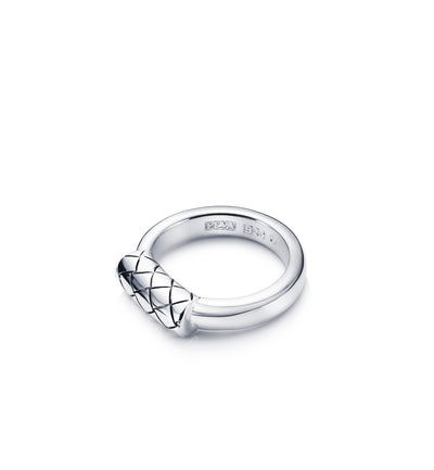 Efva Attling Braided Ring sormus