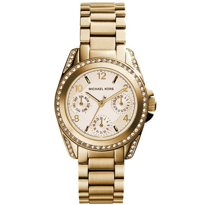 Michael Kors Mini Blair gold MK5639