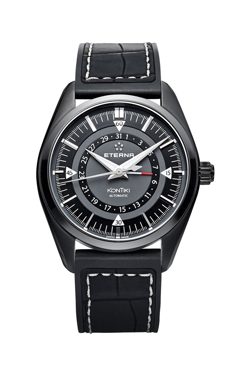 Eterna Kontiki Four-Hands Black E1598-43-41-1306