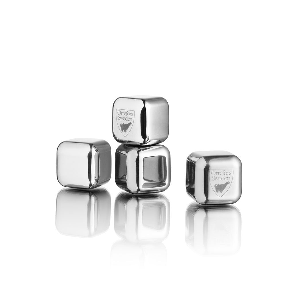Orrefors City Ice Cubes 4-pack