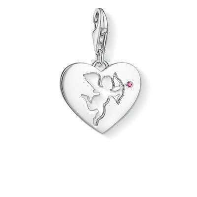 Thomas Sabo heart with cupid charm 1382-011-10