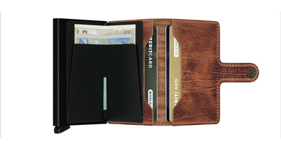 Secrid Miniwallet Dutch Martin Whiskey lompakko