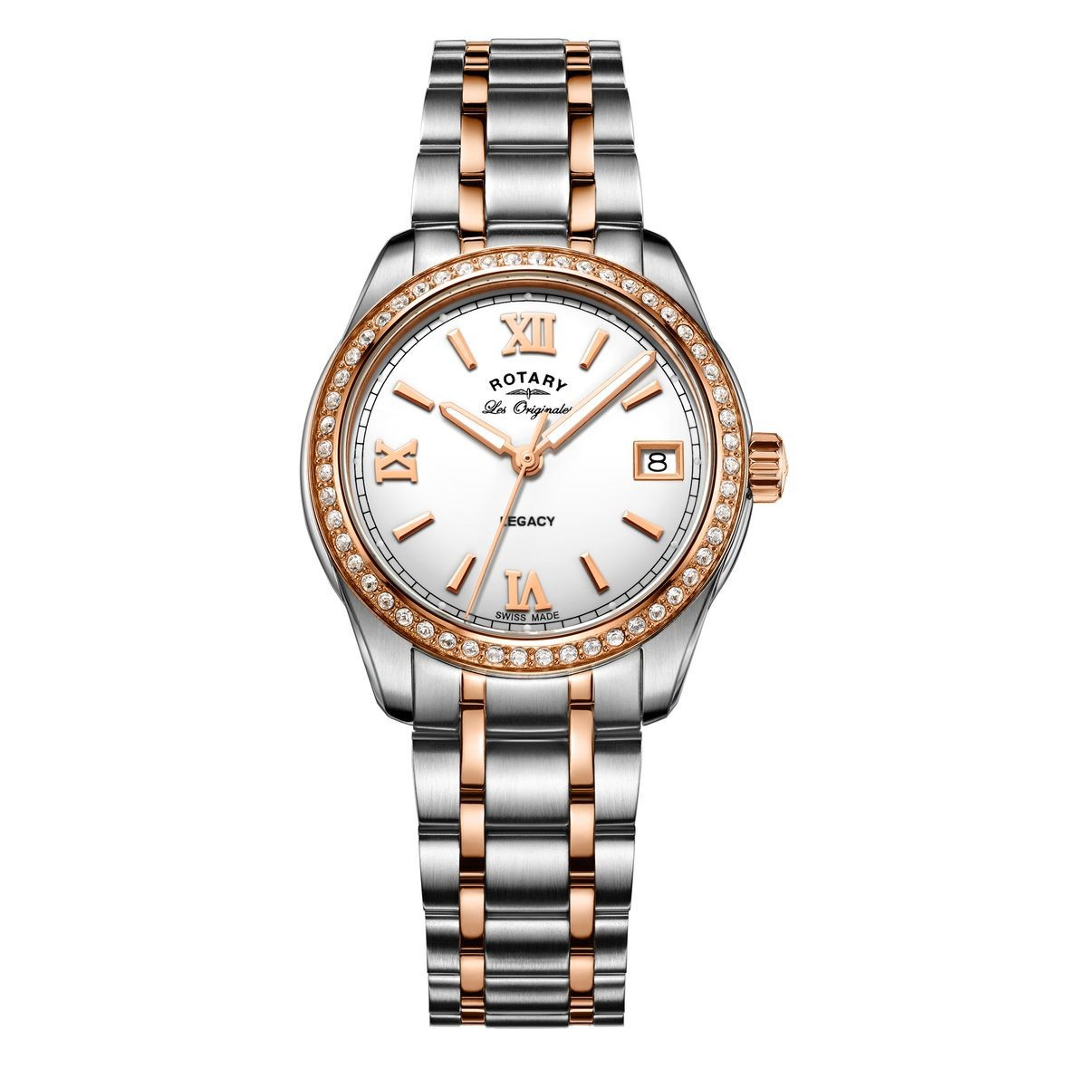 Rotary Legacy Ladies Two Tone R-LB90175/01