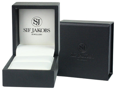 Sif Jakobs rannekoru Bangle Biella with white zirconia
