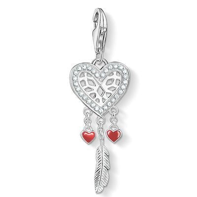 Thomas Sabo Heart dreamcatcher charm 1426-041-27