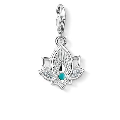 Thomas Sabo Lotus flower charm 1446-405-14